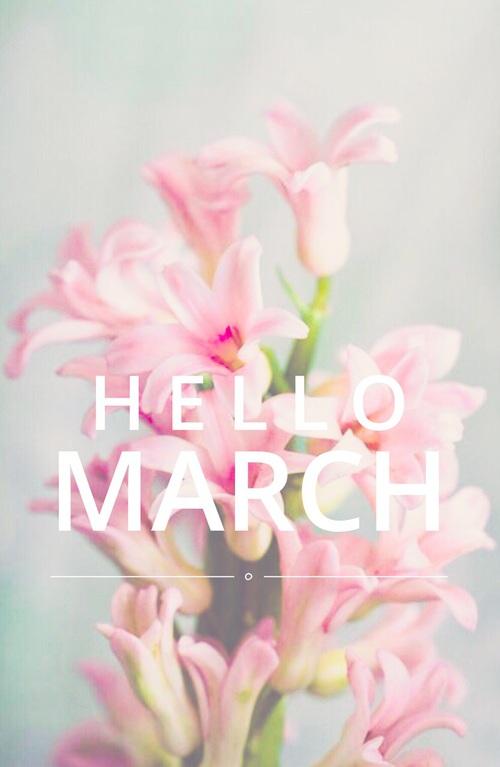 One week // März -1- Aufbruchstimmung und Frühling, Frühling, Frühling!