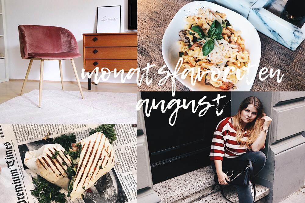 Monatsfavoriten August