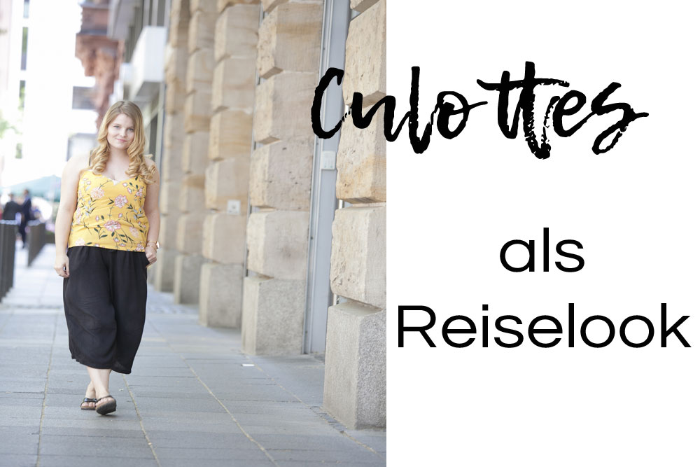 Outfit // Culottes als Reiselook