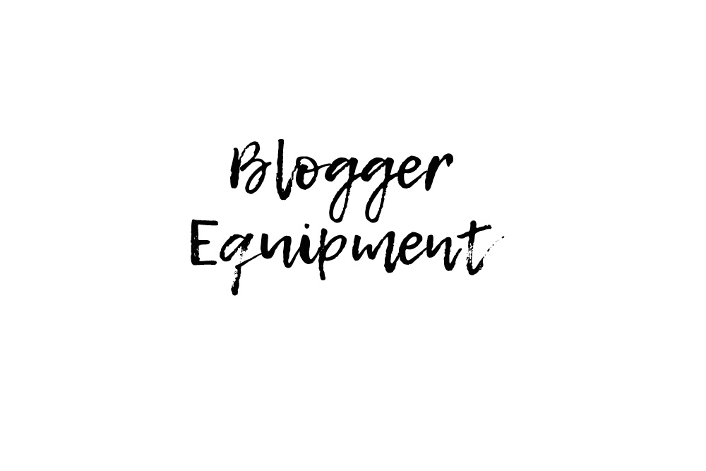 Mein Blogger-Equipment – Kamera für Fotos, Vloggen, Objektive